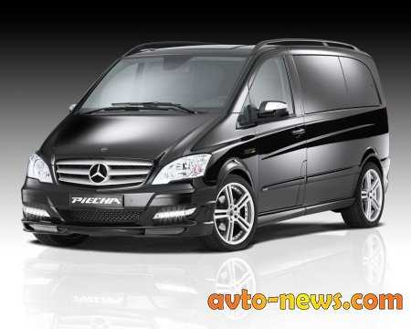 Тюнинг фунтик для Мерседес-Benz Viano facelift